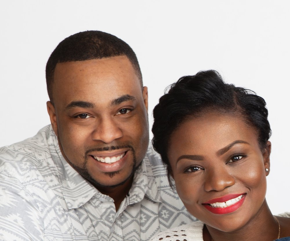 """Artrez & Charlotte Betts - Founders of pintsizefaith    Founded by this husband and wife team in October of 2015, pintsizefaith,a Christian clothing brand sole mission is to make Him known!  The small business's focus is sharing the gospel through stylish apparel and accessories. All designs are created and manufactured in house and shipped by the duo to ensure quality and accuracy.  """"We try to create pieces that will spark conversation and allow our customers to share their Christian faith. All of our pieces are well thought out. My wife and I always say that our designs are powered by the Holy Spirit. We always joke that we're not that creative but it helps that we have a Helper. """" -Artrez  Their motto which also serves as a double entendre: """"all you need is pintsizefaith"""" a gentle reminder of God's promise as stated in Matthew 17:20 as well as a nudge for your to rock their brand."""