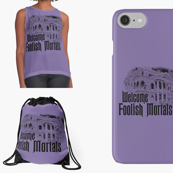 Welcome Foolish Mortals - Purple