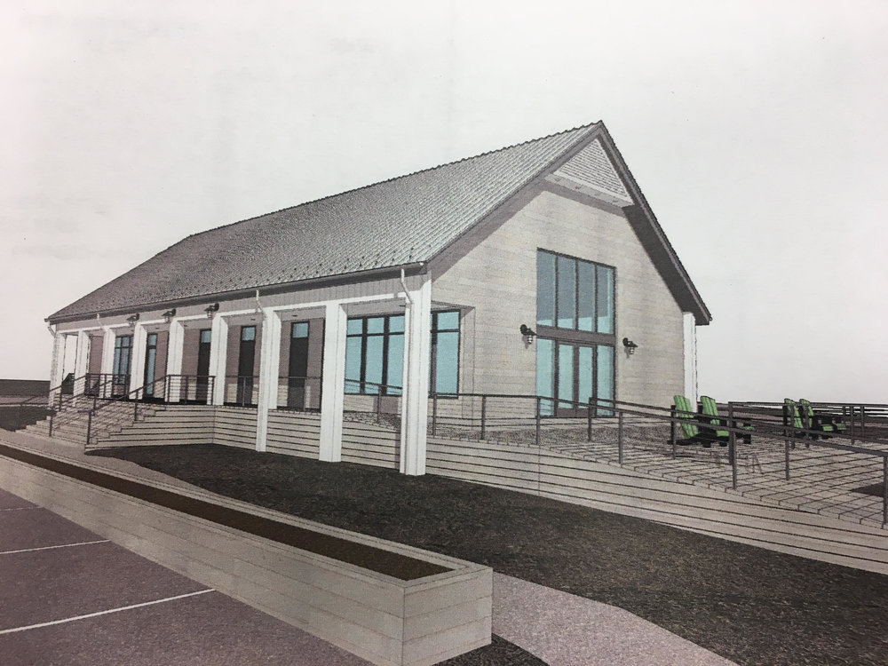 Rendering of Marina Interpretive Center
