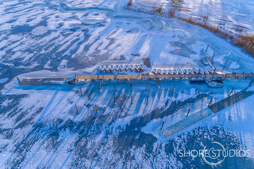 Aerial Photo of Washington College Dock