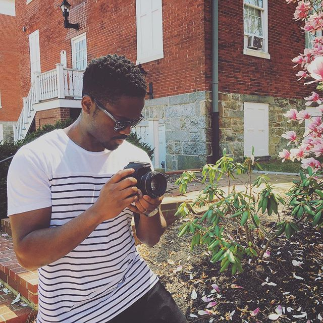 B-roll shots with @tinianian on this gorgeous day. Spring has finally sprung 🙌🏿 📷 🌸