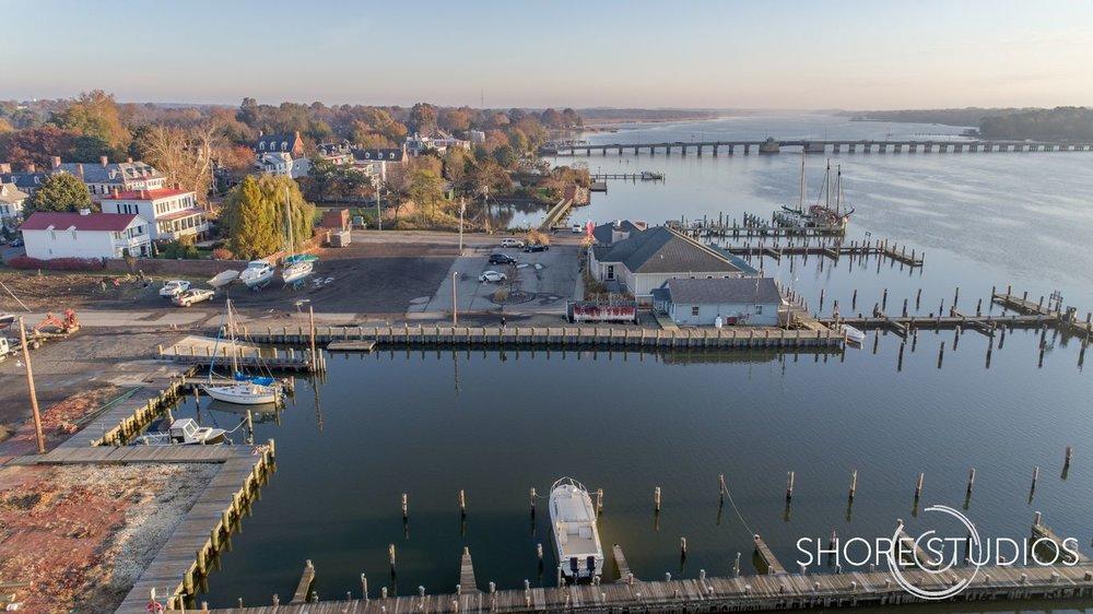 Chestertown Marina Drone Photo 2   November 2017