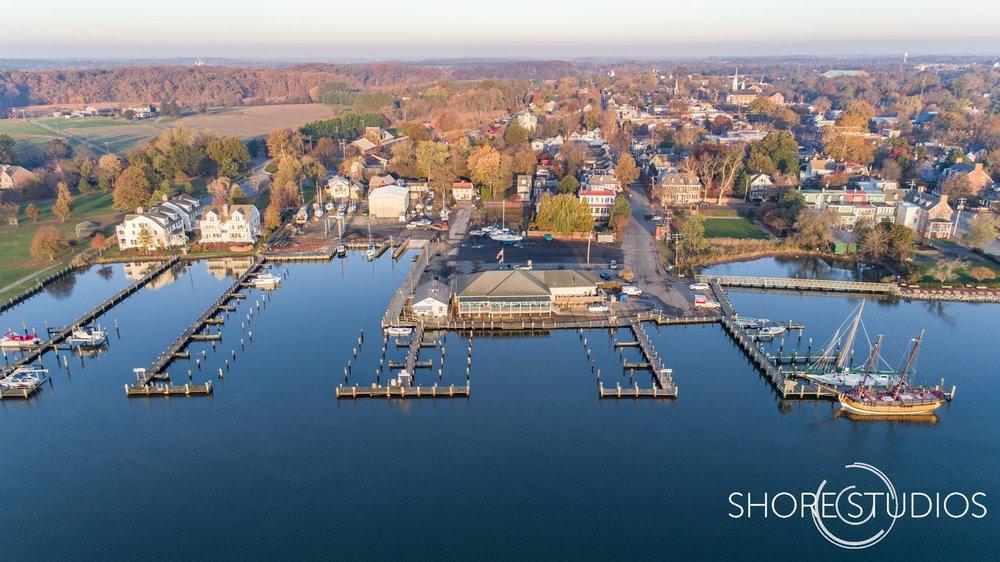 Chestertown Marina Drone Photo   November 2017