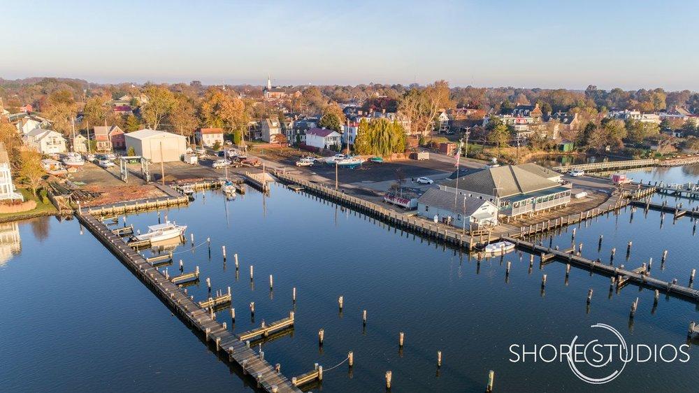 Chestertown Marina Drone Photo 3 | November 2017