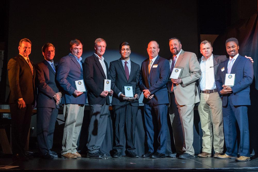 Sam Shoge with Award Winners