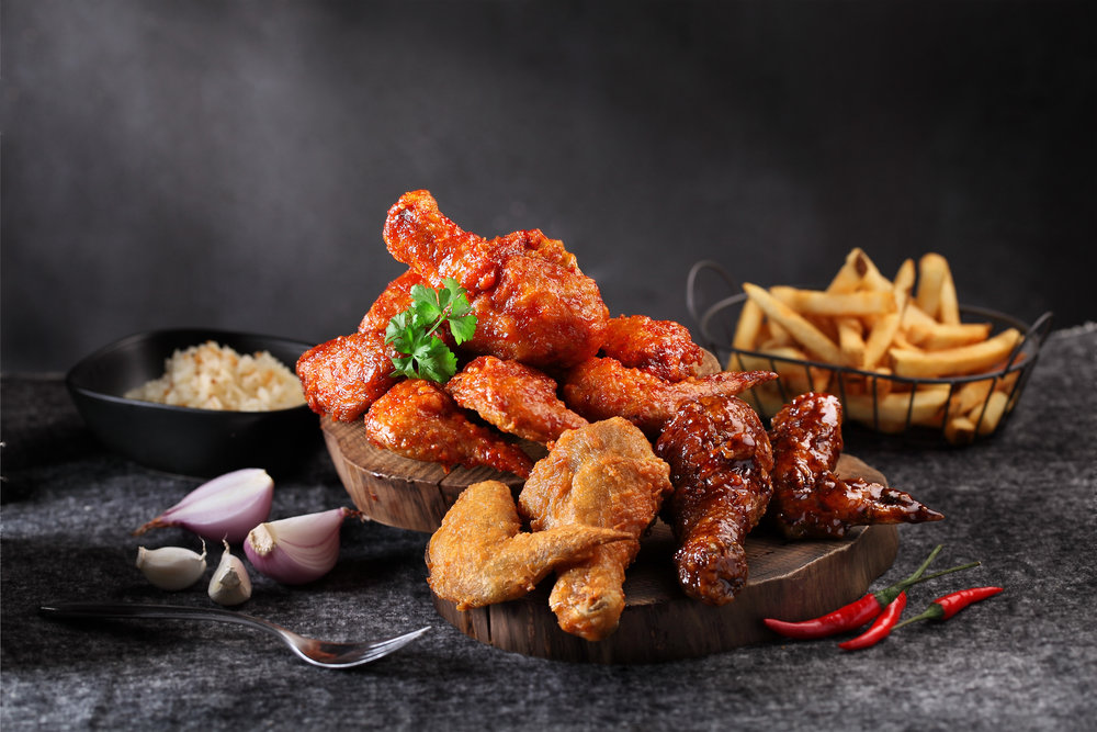 Chicken Pieces (Spicy Flamin', Sticky Kecap Manis, Naked)