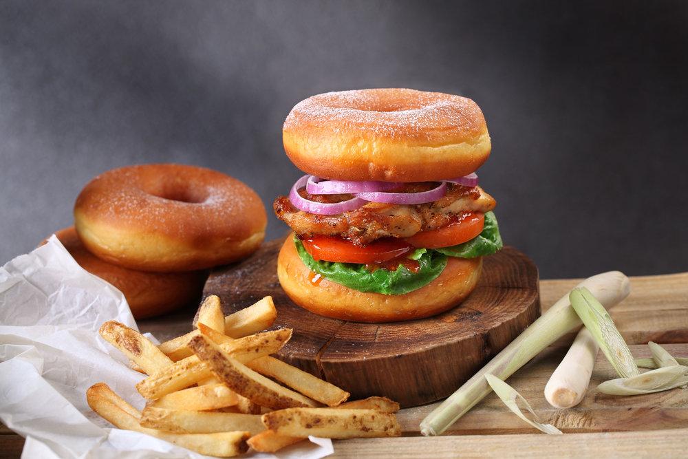 Cluckin' Good (Lemongrass Chicken Burger)