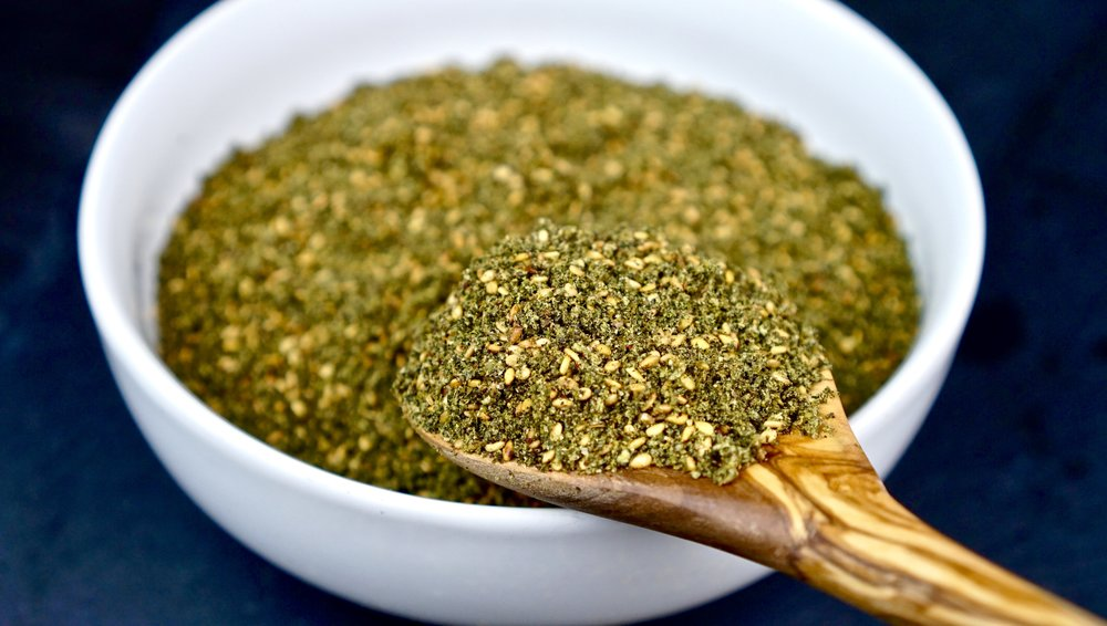 Z&Z Za'atar is made with wild thyme, sumac, and toasted sesame seeds. Sourced from the highest quality ingredients in the Middle East to create a premium blend of authentic za'atar.