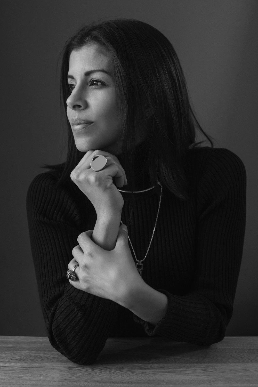 liza echeverry - psychology major. goldsmith. actress.