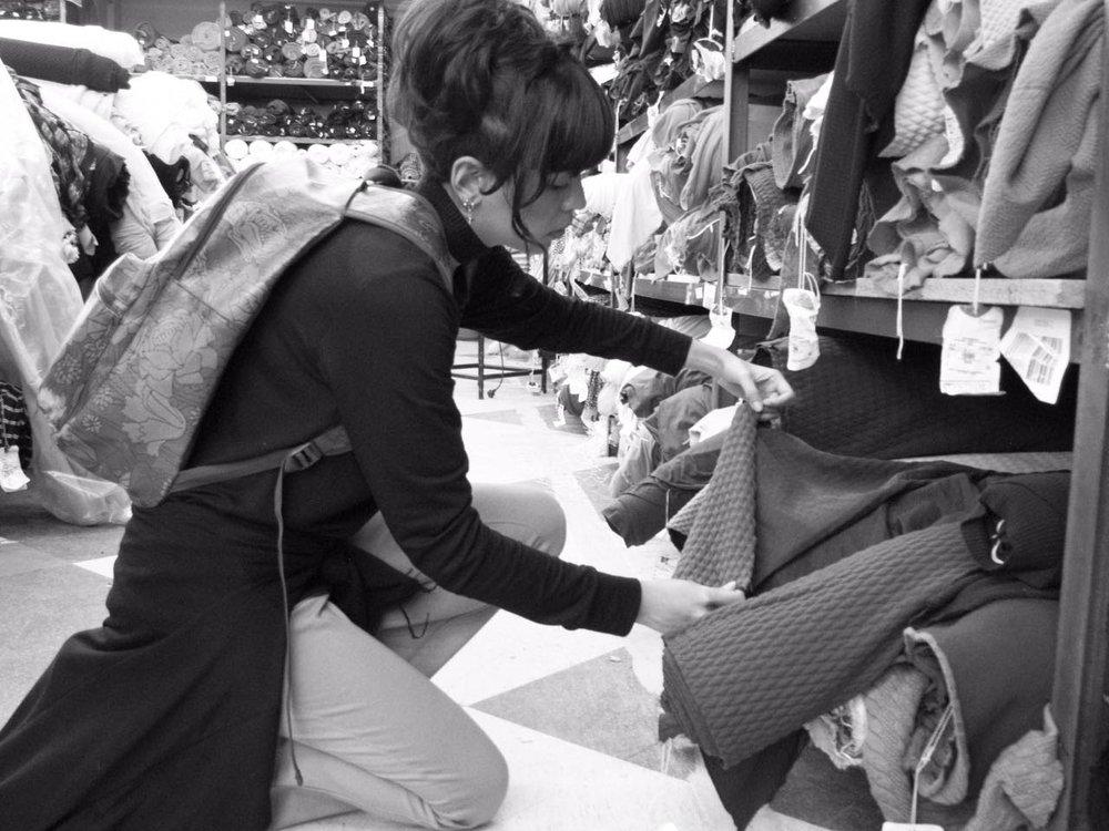 clara baldovino - Daughter. Clothing Designer. Store Owner.