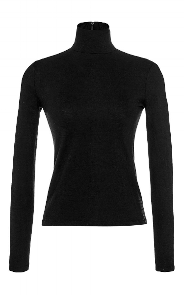 5) Classic Black Turtle Neck: Just because it can go with anything and a great layering piece . #layeringtheclassics