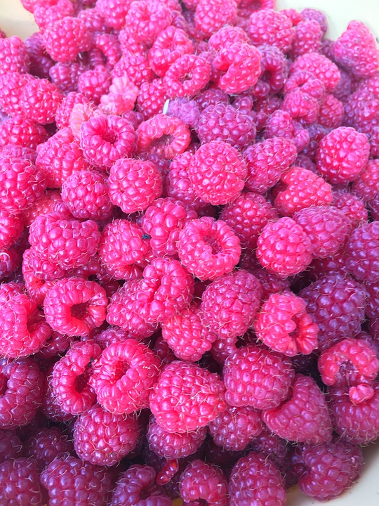 Organic and Ripe Red Raspberries from Bakersfield Agriculture.jpg