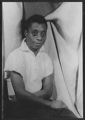 James Baldwin, 1955. Photo by Carl van Vetchen, Library of Congress.
