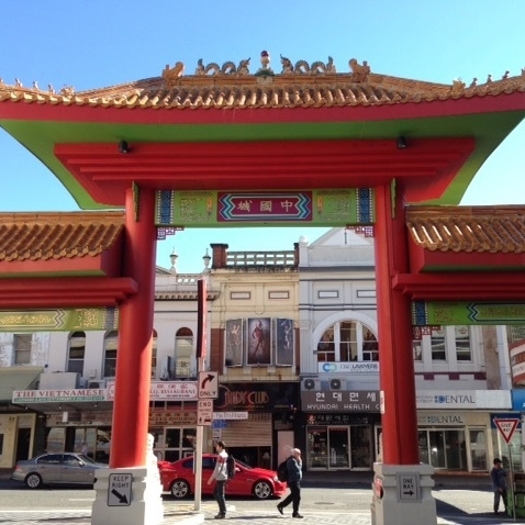 China Town - Fusion of food & culture