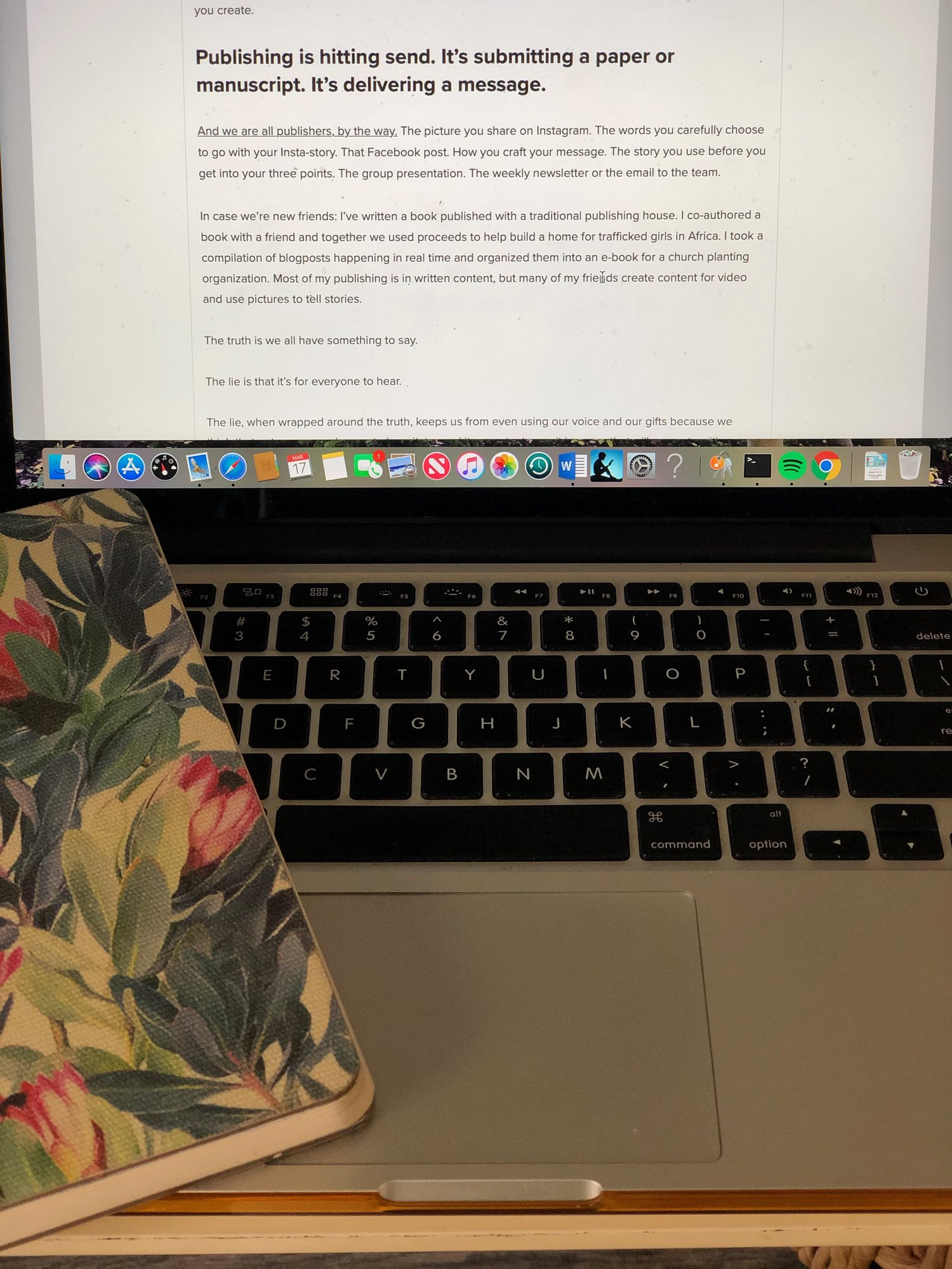 What I'm learning about content creation, part 2 — shauna