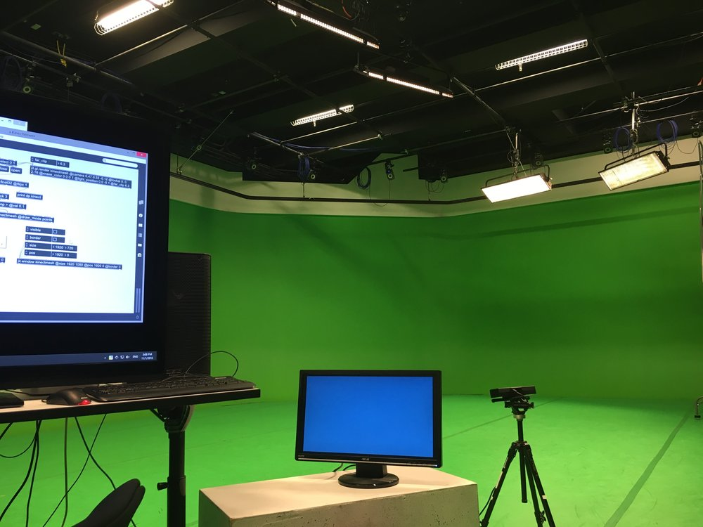 exploring Kinect in a motion capture studio