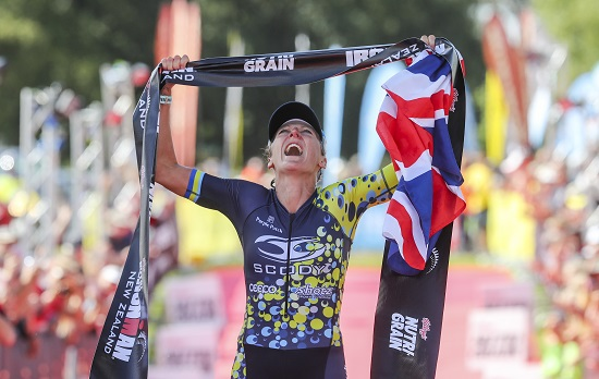 Laura Siddall Ironman New Zealand Champion