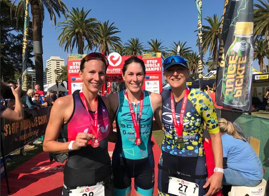 Radka Vodickova, Annabel Luxford, Laura Siddall - Challenge Melbourne 2018