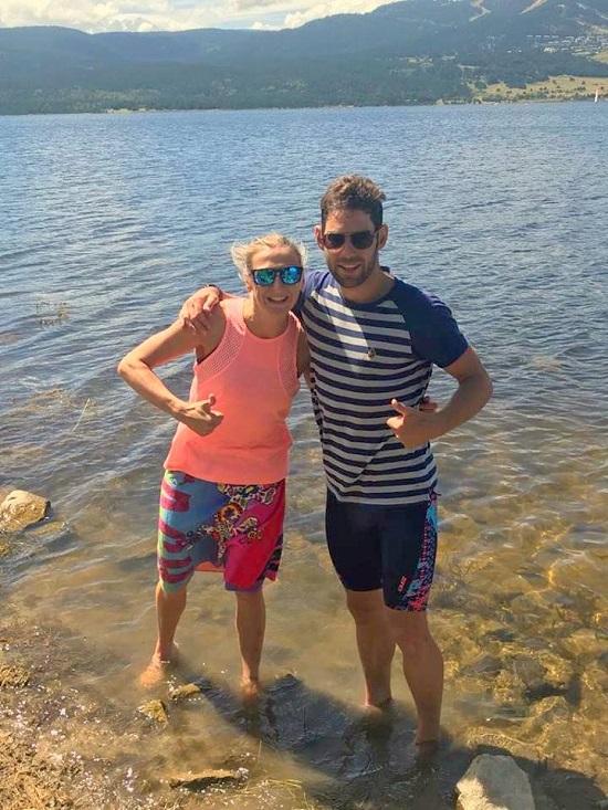 Laura Siddall and Joe Skipper