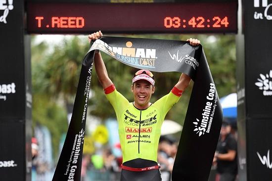 Tim Reed - Winner of the IRONMAN 70.3 Sunshine Coast