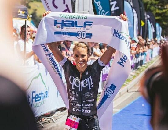 Hannah Wells - Mount Half Champion