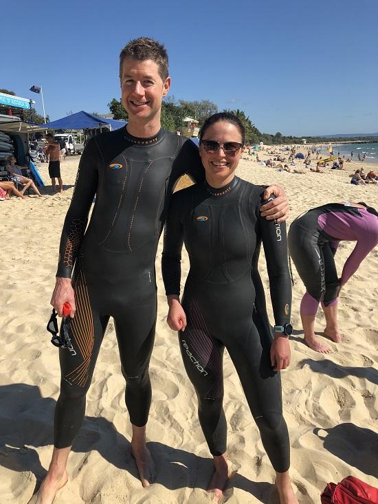 Craig Nieper and Janice