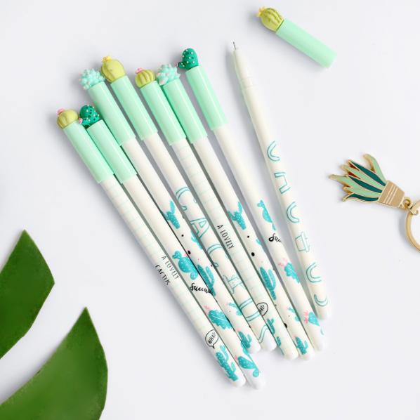 Cactus Gel Ink Pen Set