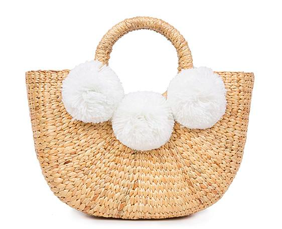 Basket Mini 3 Pom White