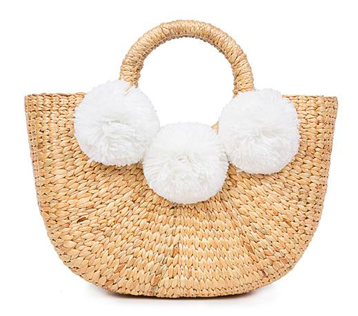 Basket Mini 3 Pom White
