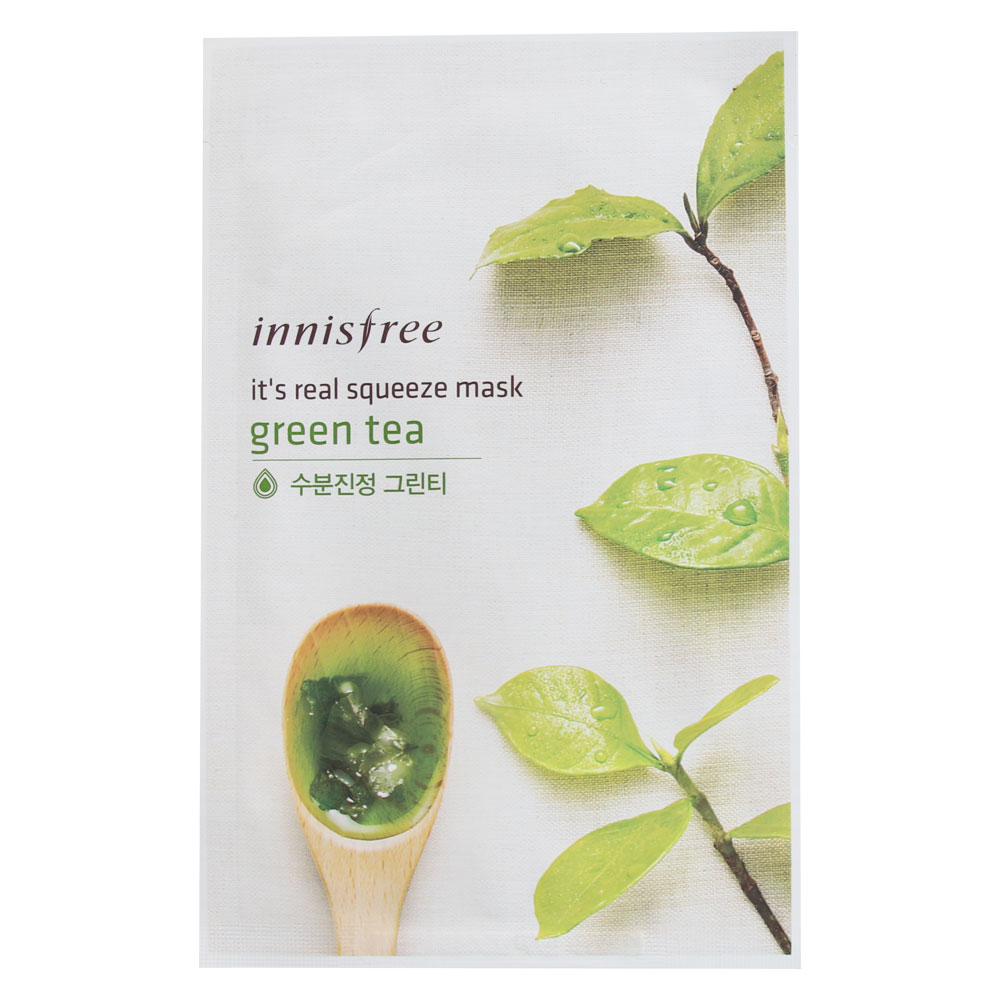 Innisfree Its Real Squeeze Mask 20ml X 10pcs Kocomei Usa Strawberry