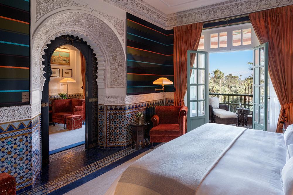 Morocco – La Mamounia's Majorelle Suite