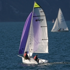 OMEGA - · International Award Winning Design, ISAF 'Learn to sail' Class· Club Trainer – Racer with capacity for up to 7 adults· Novice – Racing