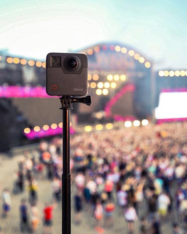 Võtsime #weekendfestival kaasa ainulaadse GoPro Fusion kaamera. Mine vaata tulemust meie facebooki lehelt ✌🏻
