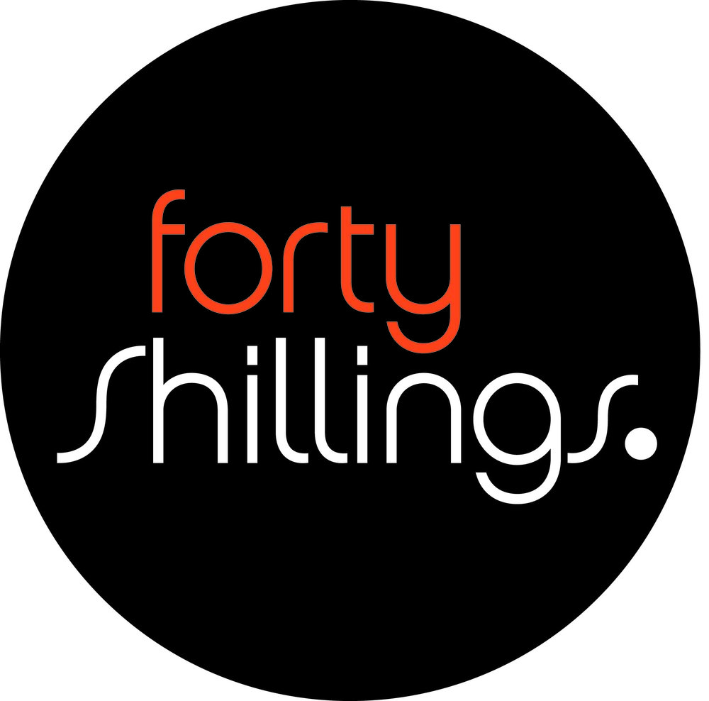 Forty Shillings Logo 2 Col Heavier Opt1 NEG Circle.jpg