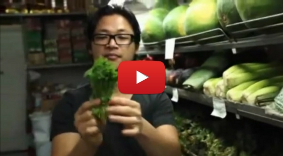 Chef Luke Nguyen (Red Lantern) Demystifies Asian Herbs - Rice Paddy Herb