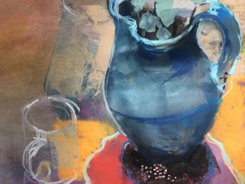 Beth Marsden - 11am - 5pmOpen studio - mixed media paintings