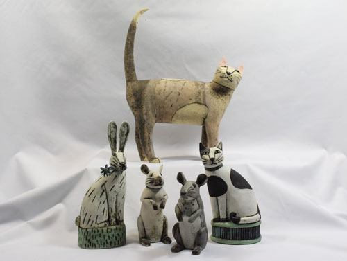 Anna Noel & Sarah Noel - 2pm - 4pmOpen studio - hand made sculptural ceramics