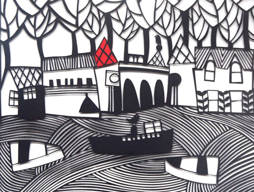 Caroline Rees - 4 - 9pmOpen studio - cut paper collage gallery, plant sale and refreshments