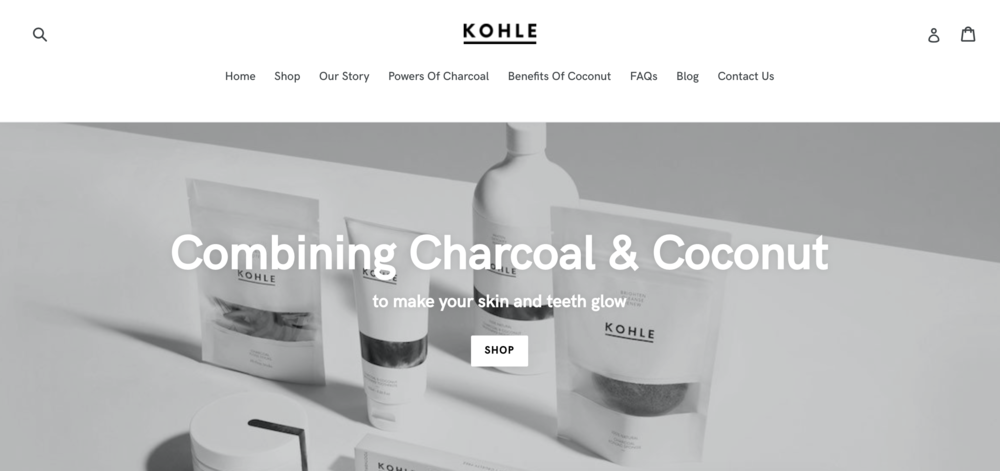 KOHLE  - Web build & design.