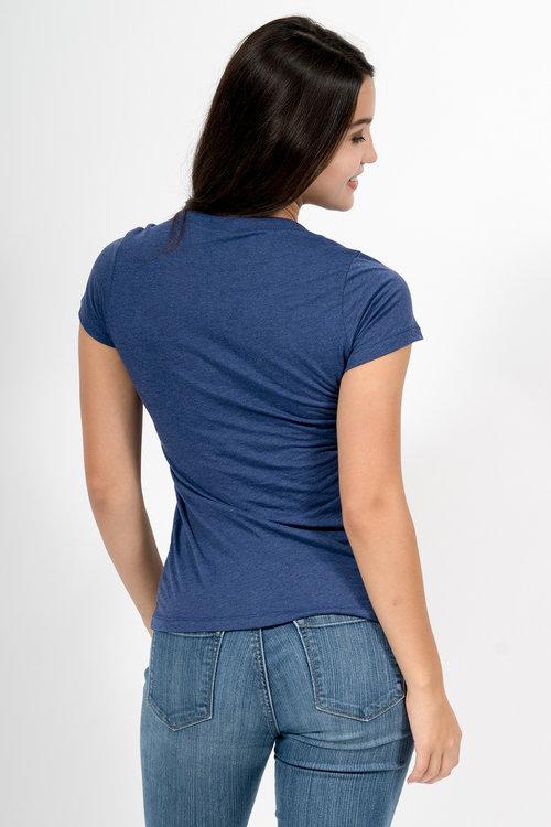 42b2d026 Custom Printing Women b8413 Bella + Canvas Triblend Short-Sleeve Tee ...