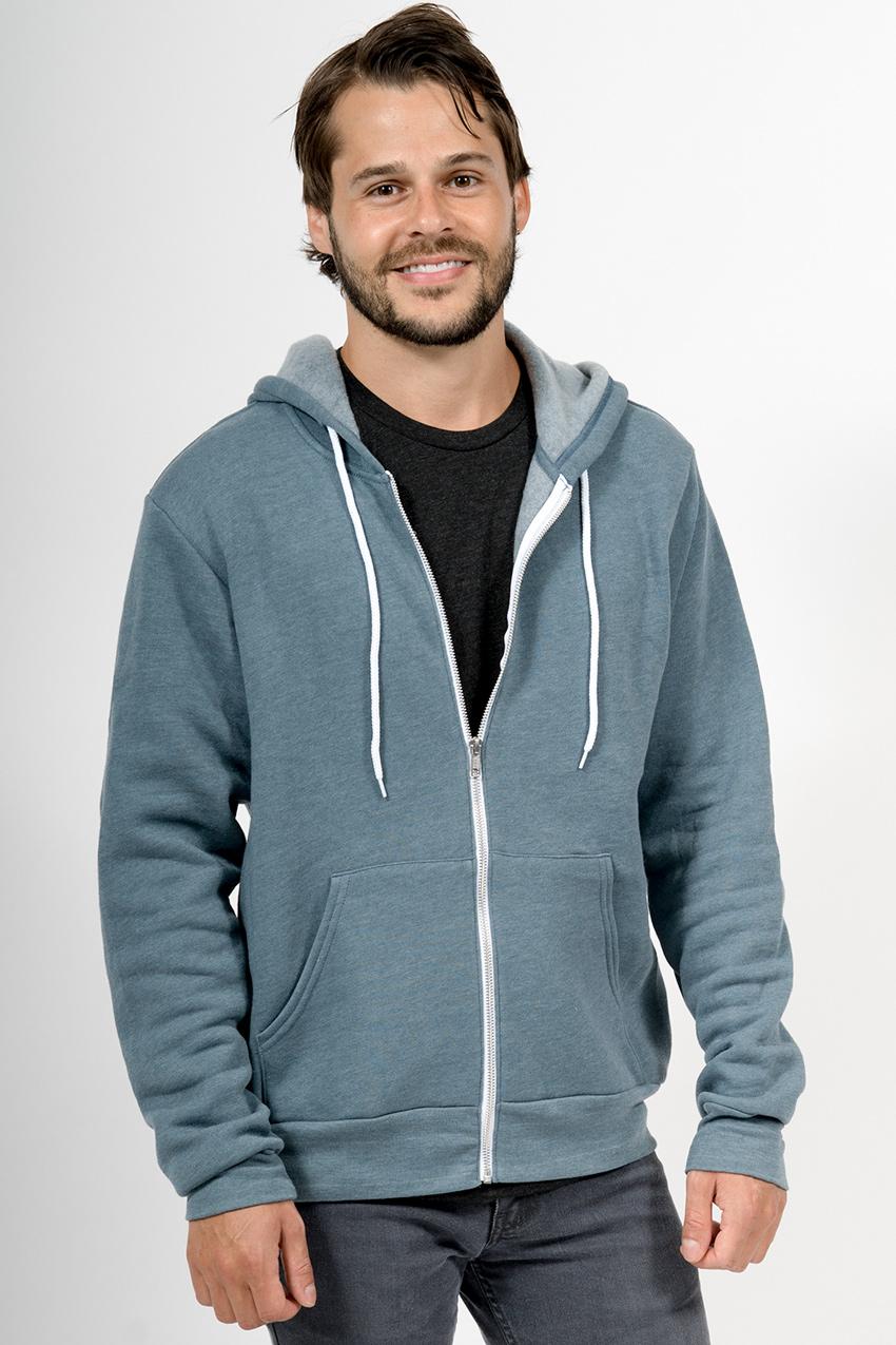Custom Bella + Canvas 3739 sweatshirt front