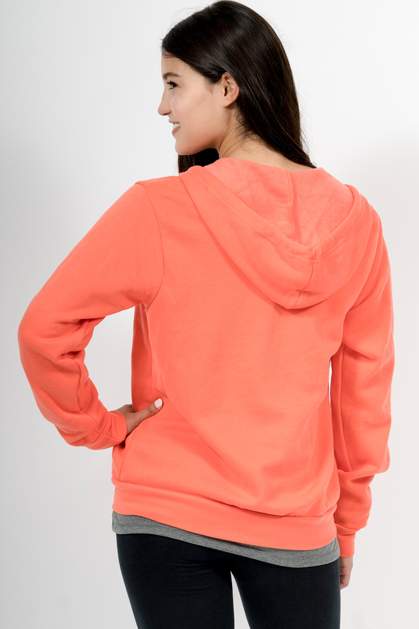 Custom Bella + Canvas 3739 sweatshirt back