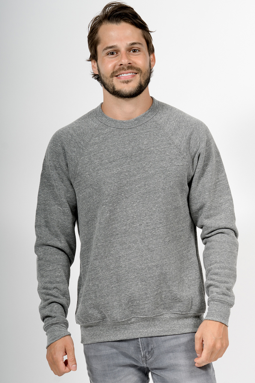 Custom Bella + Canvas 3901 sweatshirt front