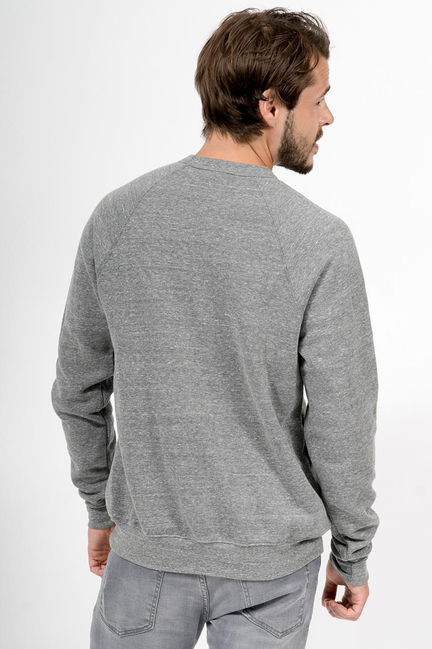 Custom Bella + Canvas 3901 sweatshirt back