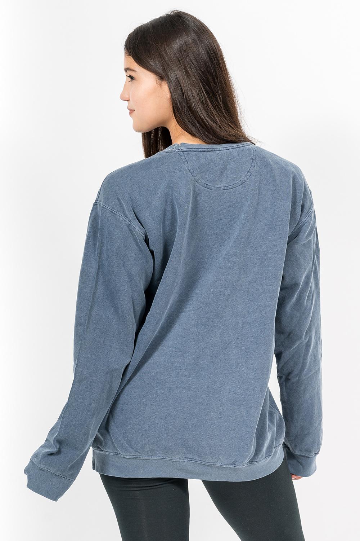 Custom Comfort Colors 1566 sweatshirt back