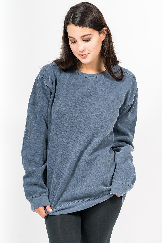 Custom Comfort Colors 1566 sweatshirt front