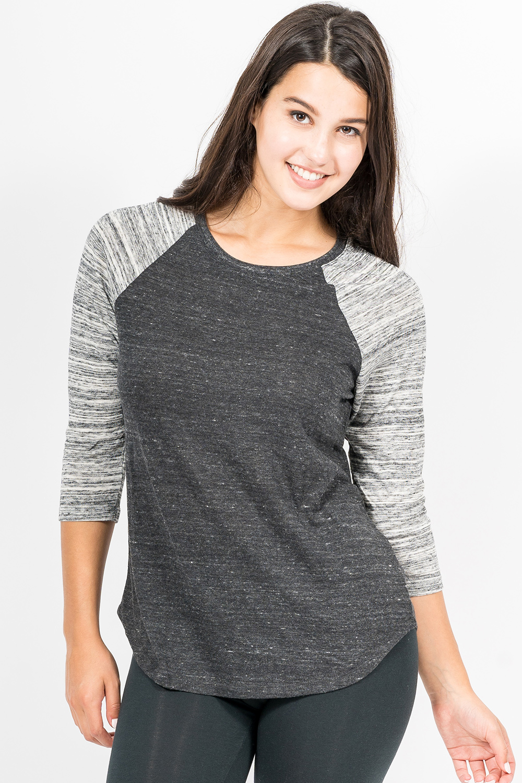 Custom Alternative 61352 Baseball t-shirt front