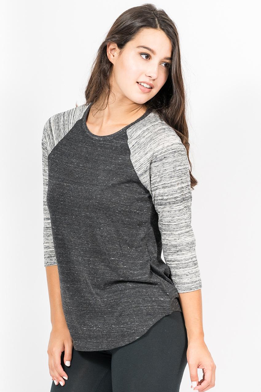 Custom Alternative 61352 Baseball t-shirt side