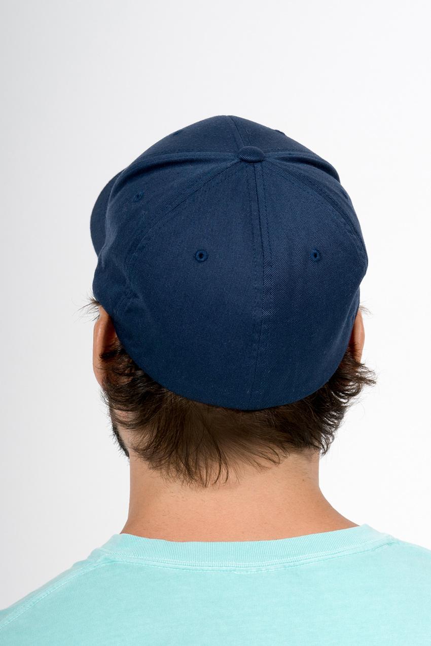Custom Flexfit 6277 6-panel hat back