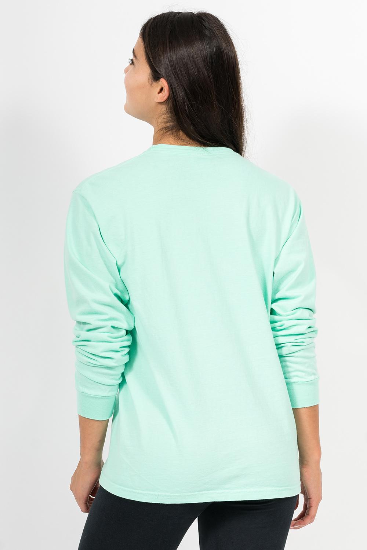 Custom Comfort Colors C6014 long-sleeve t-shirt back
